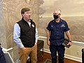 Tate Reeves meets with Steven Poulin in preparation for Hurricane Sally 01.jpg