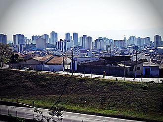 Taubaté - Panorama of Taubaté