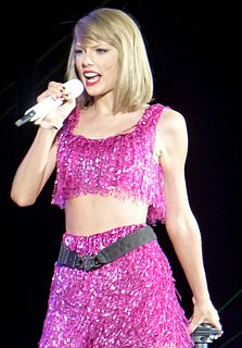 Taylor Swift American singer-songwriter