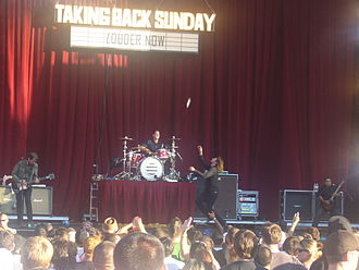Louder Now - Taking Back Sunday on the Projekt Revolution tour, August 19, 2007