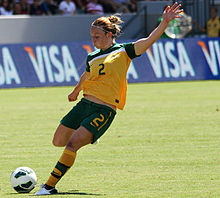 Teigen Allen playing against the USWNT 2012.jpg