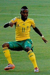 Teko Modise South African footballer