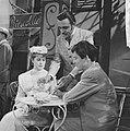 Televisierepetitie Een mooie zondag in september . Jules Royaards en Myra Ward, Bestanddeelnr 912-6055.jpg