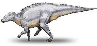 1903 in paleontology - Telmatosaurus transsylvanicus