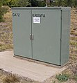 Telstra roadside cabinet housing a RIM and CMUX.jpg