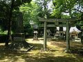 Temman Shrine in Tabiishi Hachiman Shrine.jpg