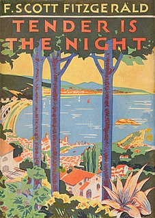 <i>Tender Is the Night</i> 1934 novel by F. Scott Fitzgerald