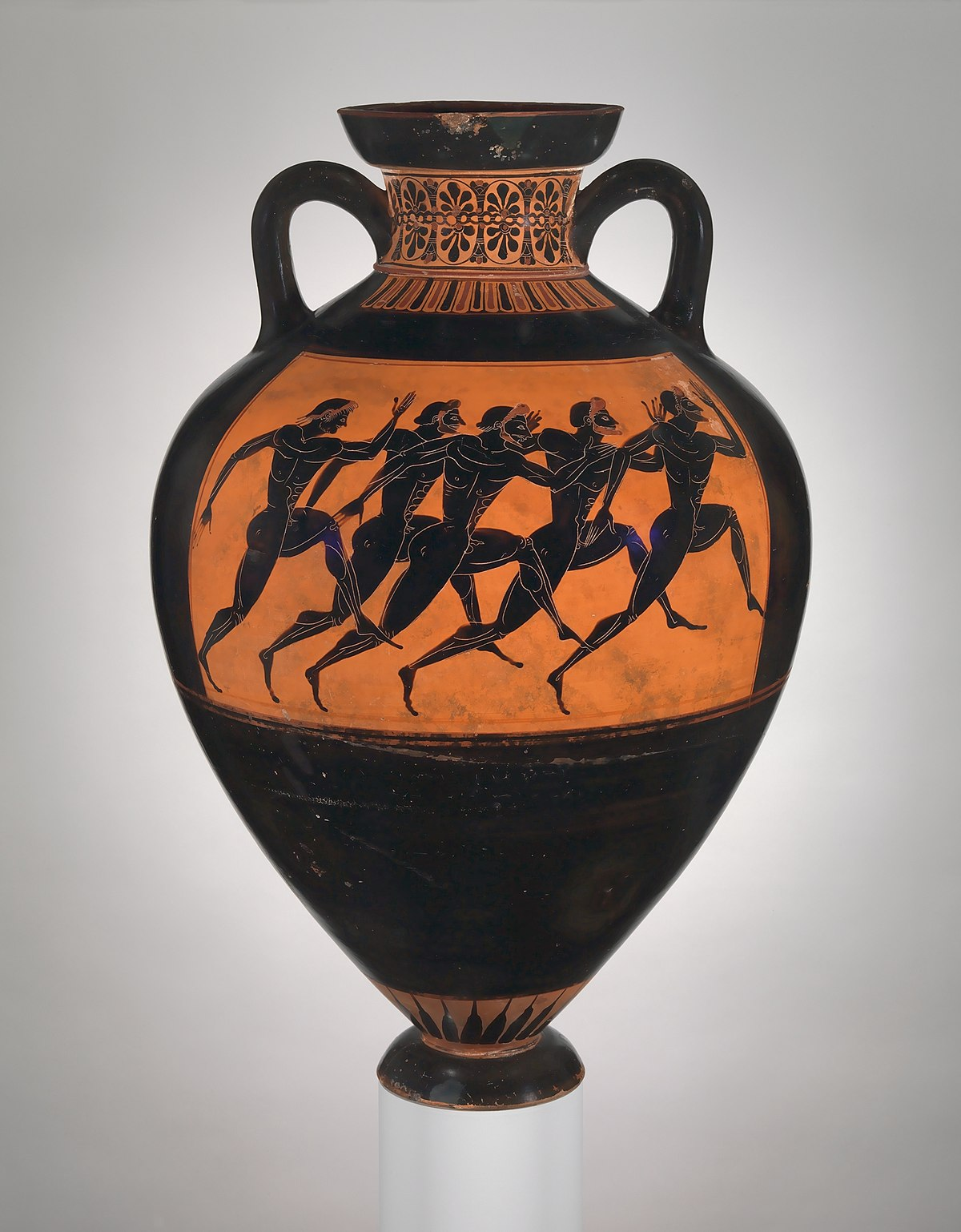 Euphiletos Painter Panathenaic Prize Amphora Wikipedia
