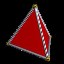 a 3 dimensional simplex