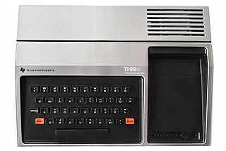 Texas Instruments TI-99/4A Home computer by Texas Instruments