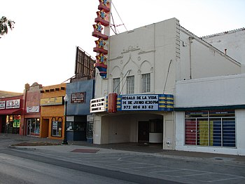 Texas Theatre in Dallas, Texas
