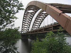 Thaddeus Kosciusko Bridge - Image: Thaddeus Kosciusko Bridge Albany Summer