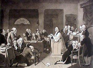 Jacob Duché - First Prayer in Congress