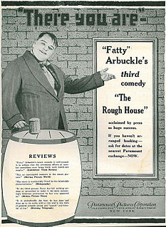 <i>The Rough House</i> 1917 film