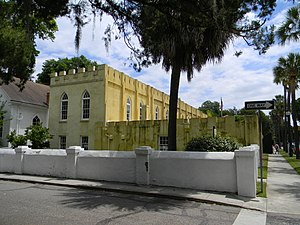 The Arsenal at Beaufort Historic District.