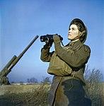 The Auxiliary Territorial Service at An Anti-aircraft Gun Site in Britain, December 1942 TR454.jpg