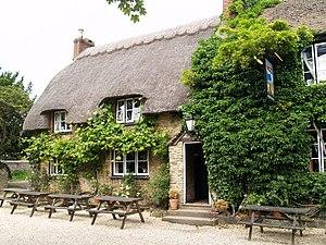 Longworth - The Blue Boar public house