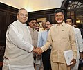 The Chief Minister of Andhra Pradesh, Shri N. Chandrababu Naidu meeting the Union Minister for Finance, Corporate Affairs and Defence, Shri Arun Jaitley, in New Delhi on June 26, 2014.jpg