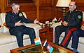 The Chief of General Staff, Afghan National Army, Lt. Gen. Mohd. Sharif Yaftali meeting the Chief of Army Staff, General Bipin Rawat, in New Delhi on December 11, 2017.jpg