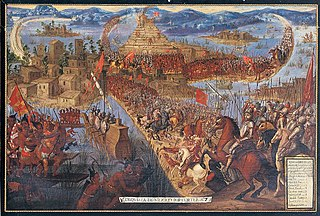 Spanish conquest of the Aztec Empire 16th-century Spanish invasion of Mesoamerica