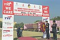The DG, AFMS Surgeon Vice-Admiral Shri V.K.Singh at the Flag-in ceremony of the motorcycle rally for AIDS Awareness on the occasion of World AIDS Day, in New Delhi on December 1, 2005.jpg
