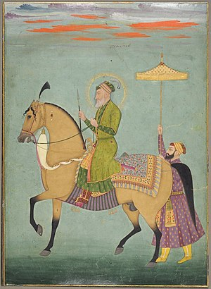 Aurangzeb - Image: The Emperor Aurangzeb on Horseback ca. 1690–1710 The Cleveland Museum of Art
