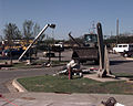 The F-5 tornado that devastated a good portion of Oklahoma City, Oklahoma, just barely missed destroying Tinker AFB, Oklahoma DF-SD-00-03256.jpg