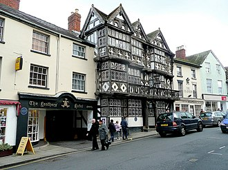 Feathers Hotel, Ludlow - Exterior
