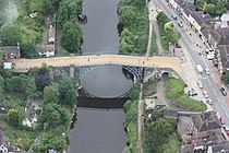 The Iron Bridge (Aerial).JPG