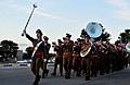 The Israeli Defense Forces band marches during the closing ceremony of Austere Challenge 2012 at Hatzor Israeli Air Force Base, Israel 121108-F-QW942-004.jpg