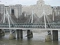 The Jubilee Bridge from the London Eye - geograph.org.uk - 371602.jpg