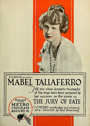 Tod Browning - The Jury of Fate (1917)