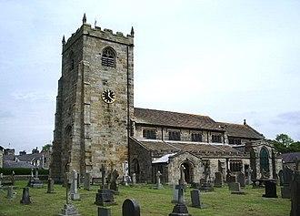 Waddington, Lancashire - Image: The Parish Church of St Helen, Waddington geograph.org.uk 454974