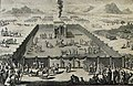 The Phillip Medhurst Picture Torah 520. The tabernacle. Leviticus cap 8 vv 1-13. Mortier.jpg