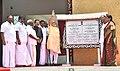 The Prime Minister, Shri Narendra Modi inaugurating Dr. A.P.J. Abdul Kalam memorial, at Pei Karumbu, Rameswaram, in Tamil Nadu.jpg