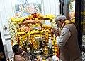 The Prime Minister, Shri Narendra Modi performed Abhishekam at the historic Lord Shiva temple, in Muscat, Oman on February 12, 2018.jpg