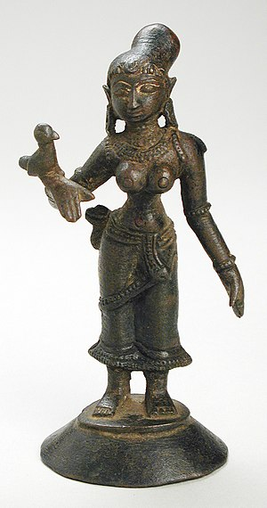Andal - Saint Andal (14th Century, Madurai), at the Los Angeles County Museum of Art