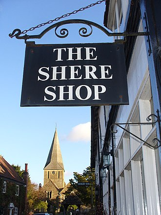 Shere - Shere Shop, one of the many shops