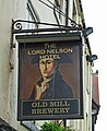 The Sign of The Lord Nelson Hotel - geograph.org.uk - 776687.jpg
