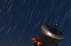 Max Planck Institute for Radio Astronomy - Image: The Stars Streak Overhead