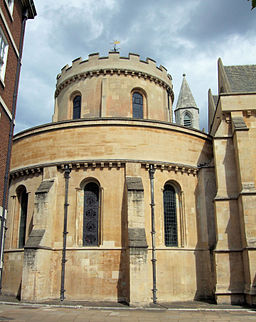 The Temple Church in City Of London.