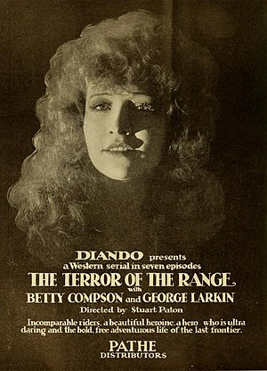 Terror of the Range - Ad for film