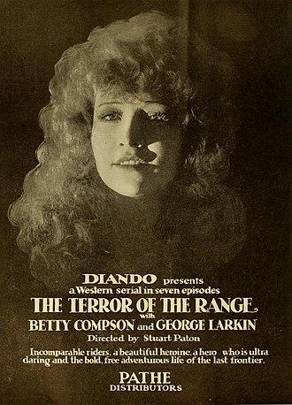 Terror of the Range - Ad for film