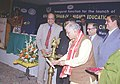 The Union Minister for Human Resource Development and Science & Technology Dr. Murli Manohar Joshi launching Gyan Vani FM radio stations at Delhi, Kolkata.jpg