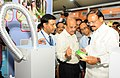 The Union Minister for Urban Development, Housing & Urban Poverty Alleviation and Information & Broadcasting, Shri M. Venkaiah Naidu visiting the Sanitation Technology Exhibition, in New Delhi (2).jpg