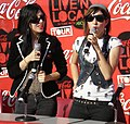 The Veronicas interviewed 2006.jpg