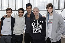The Wanted, Empire State Building Observation Deck, 2012, New York City.