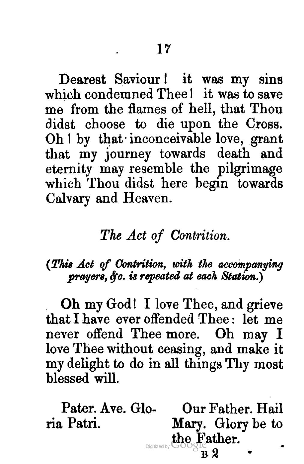 image about Act of Contrition Prayer Printable referred to as Webpage:The Direction of the Holy Cross Martin.djvu/22 - Wikisource