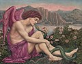 The angel with the serpent, by Evelyn de Morgan.jpg