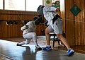 The attack on the fencer Alexandros Kanellis at Athenaikos Fencing Club.jpg